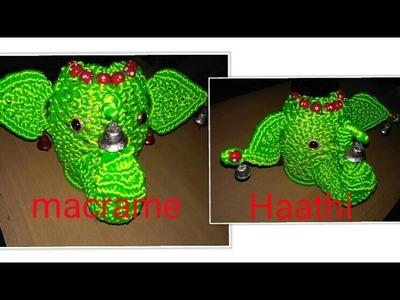 How to make macrme small elephant. .