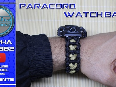 How to make Paracord Watchband   The Ultimate Paracord Watchband
