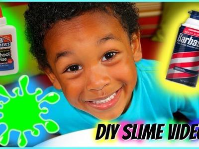 How to Make Slime DIY Tutorial! Whip Whip! Three easy steps! SLIME for Kids
