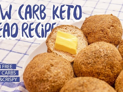 How to make The BEST and EASIEST Keto Low Carb Bread