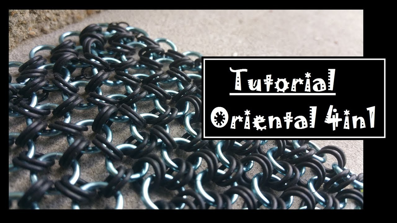 How to Oriental 4in1 Chainmaille