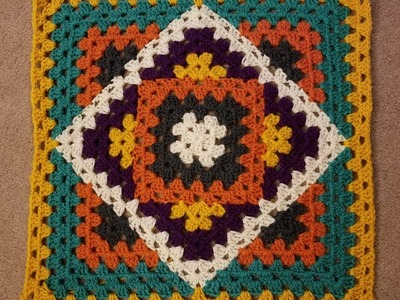 Kaleidoscope Granny Blanket Crochet Along (pt 2.1)