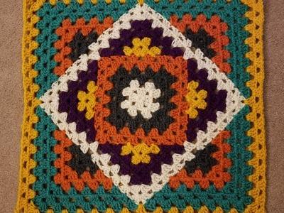 Kaleidoscope Granny Blanket Crochet Along (pt 2.5)