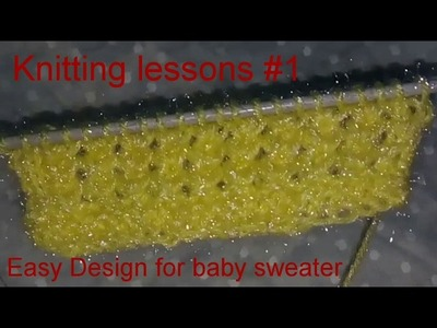 Knitting pattern. Beautiful. Jali design. sweater design. Easy Knitting