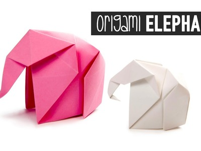 Origami Elephant Tutorial ???? Paper Kawaii