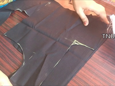 Perfect blouse cutting with measurement | how to cut blouse with measurements