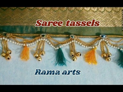 Saree tassels - How to make saree tassels | Tassels tutorials