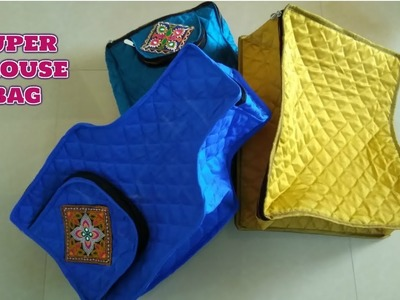 Super Blouse Bag Make At Home Diy