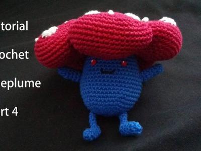 Vileplume Amigurumi Pokemon Crochet Tutorial Part 4