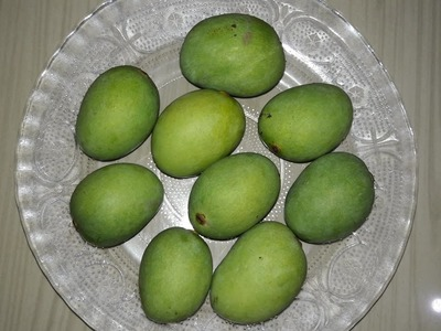 Amchur powder recipe | How to make dry mango powder recipe
