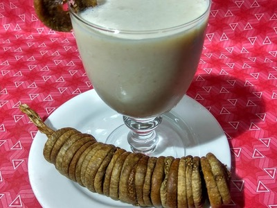 Anjeer Ki Lassi - Figs Shake - How To Make Figs Shake