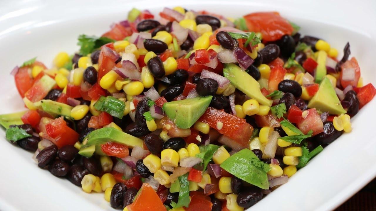 Black Bean Salad Recipe - How to Make a Black Bean Salad