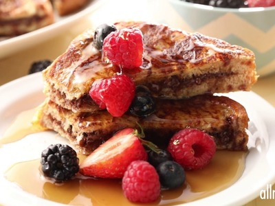 Breakfast Recipes - How to Make Nutella-stuffed French Toast