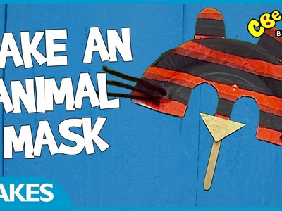 CBeebies Makes | How to make an animal mask
