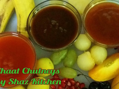 Chaat Chutneys_Ramadan Special Recipe(In Urdu.Hindi)How To Make Tamarind,Plum&Apricot Sauces At Home