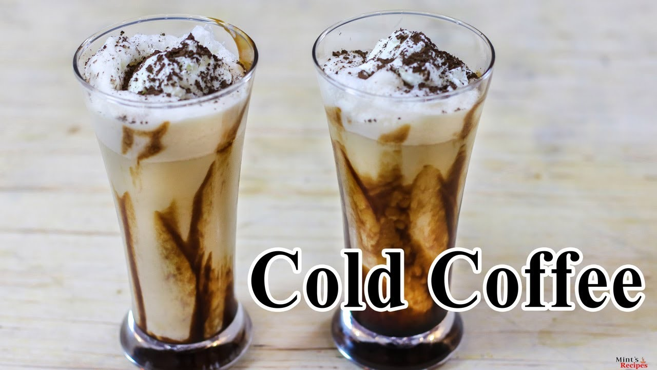 Cold Coffee Recipe WIth Ice Cream In Hindi-How To Make Cold Creamy Coffee-Beaten Coffee-Ep-219