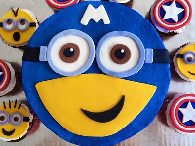 DIY How to Make Kinetic Sand Minion Captain America Rainbow Learn Colors Kinetic Sand For Kids