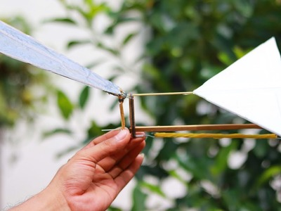 DIY Rubber Band Flying Fish - How to Make a Rubber Band Flying Fish