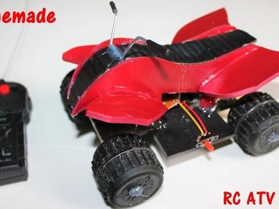 How To Make a ATV Bike - Remote Controlled Bike - Quad Bike