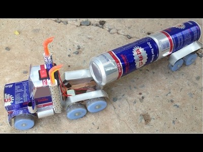 How to Make a Bacchus Truck with DC motor - Awesome Bacchus Truck (DIY)