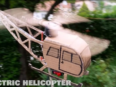 How to Make a Cardboard Helicopter