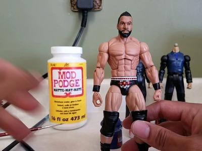 How To Make A Custom Elite Jinder Mahal! WWE Custom Figure