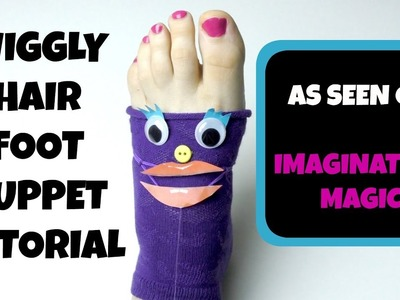 HOW TO MAKE A FOOT PUPPET. HAND AND FOOT PUPPET SHOW FOR CHILDREN- PUPPET SHOWS FOR KIDS