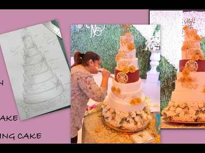 HOW TO MAKE A HUGE TIERED CAKE