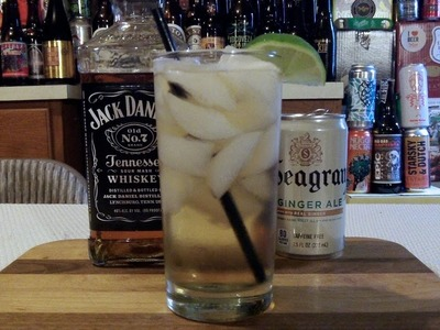 How To Make A Jack & Ginger Cocktail  ✖︎ RECIPE INCLUDED ✖︎ DJs BrewTube