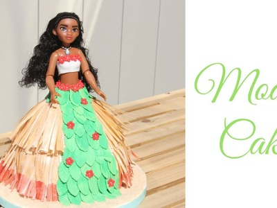 How to make a Moana cake | Disney custom cake