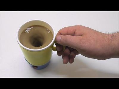 How to make a mug mixer for tea coffee chocolate