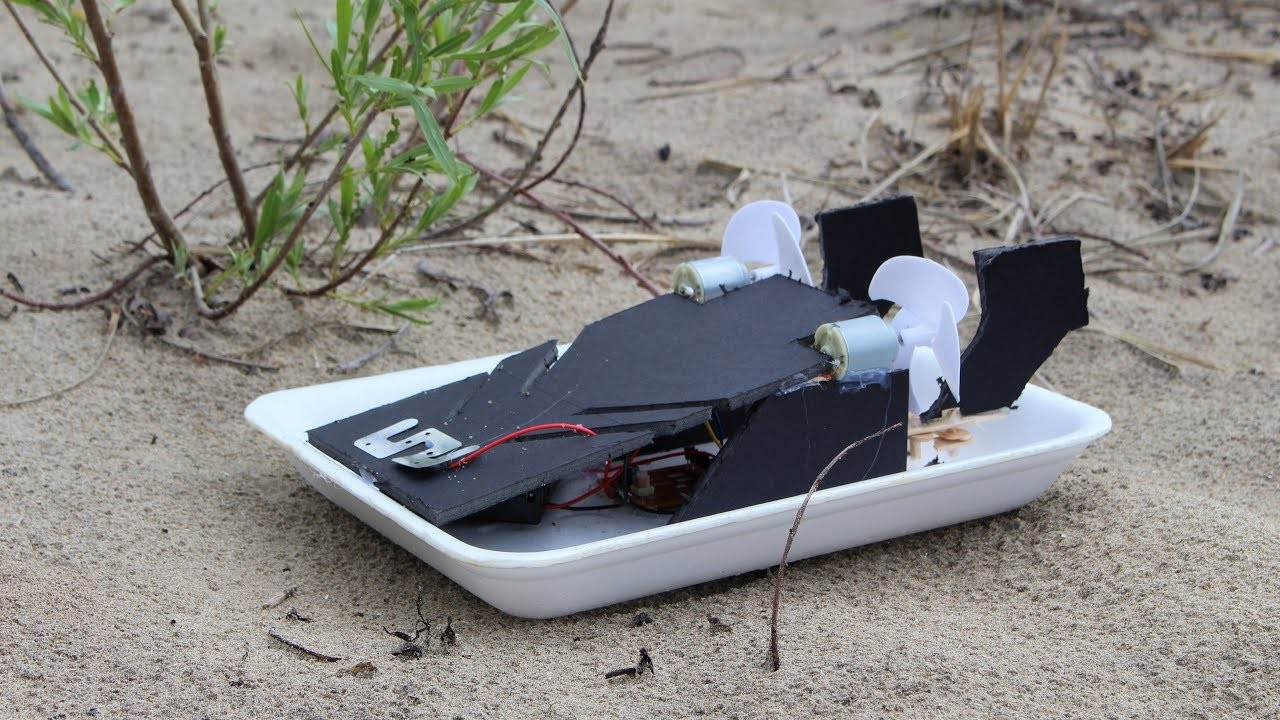 How To Make a RC Speedboat