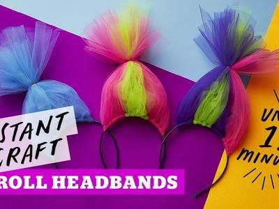 How to make a troll headband