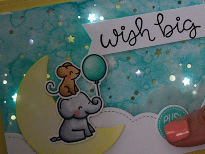 How to make a twinkle light card