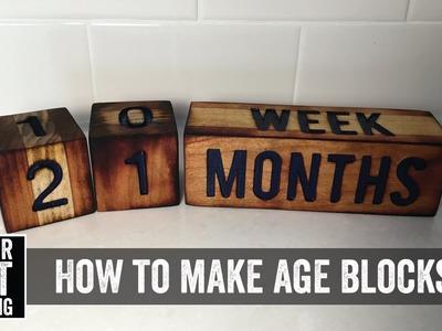 How to Make Age Blocks