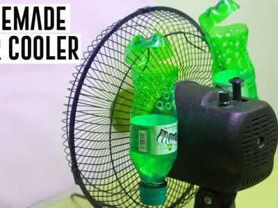 How To Make Air Cooler at Home Using Plastic Bottle