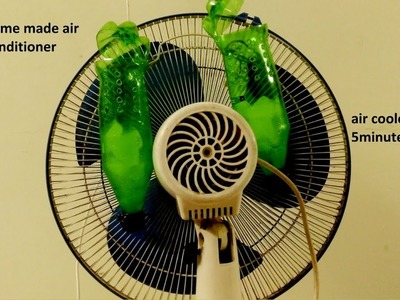 How to make air cooler at home-using Plastic Bottle || No Need Money || 100% Cool