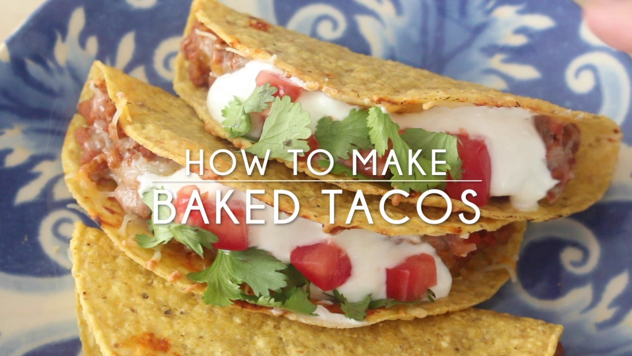 How to Make Baked Tacos