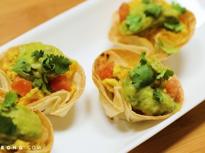 How to Make Breakfast Taco Cups