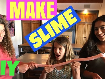 How To Make Bubble Gum Slime With Chloe