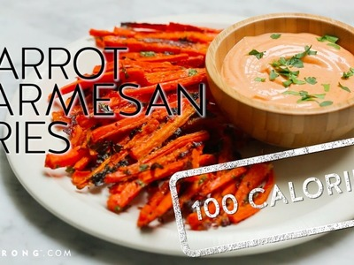 How to Make Carrot Parmesan Fries