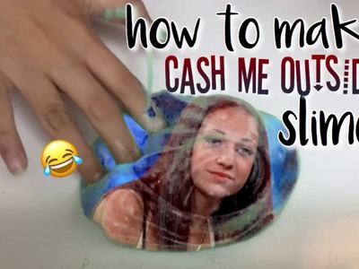 How to Make CASH ME OUTSIDE Slime! ???? ~ PastelxCupcakes