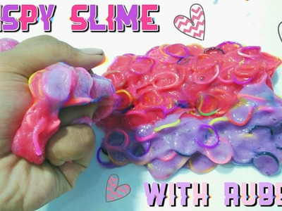 How to make crispy slime With rubber!? - Very easy recipe!