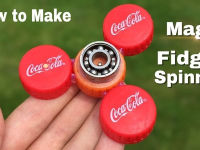 How to Make Electric Fidget Spinner at Home  - Unstoppable Fidget Spinner