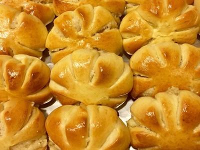 How To Make Filipino Squash Shape Bread