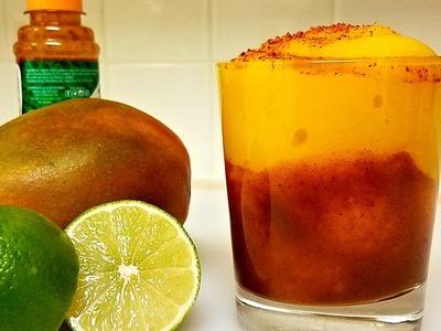 How to Make Mangonadas - Sparkling Mangonada Drink