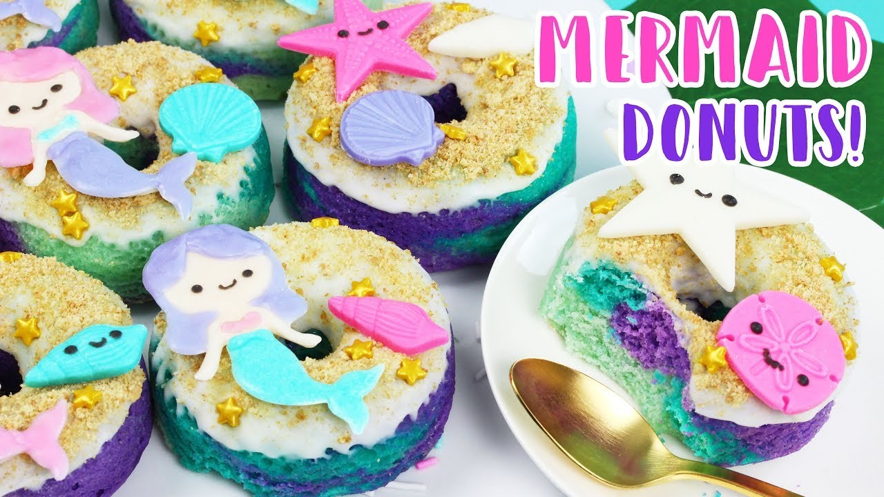 How to Make Mermaid Donuts! ????????