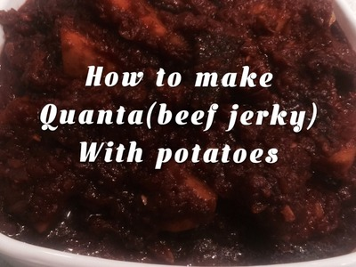 How To Make Quanta Wet.beef Jerky Wet Part 2