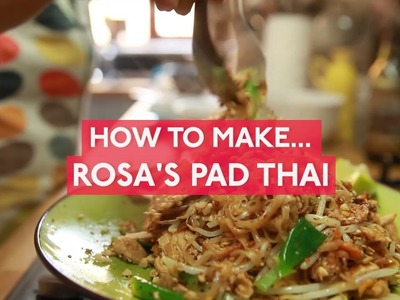 How to make Rosa's Pad Thai chicken