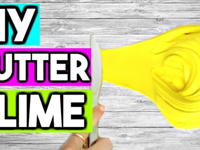 How to Make Slime WITHOUT Glue or Borax! How to Make Butter Slime WITHOUT Glue OR Cornstarch!
